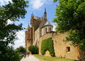 Hohenzollern Castle Church Royalty Free Stock Photo
