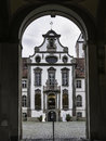 Hohes schloss fussen image of the entrance portal to the in Royalty Free Stock Photography