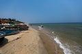 Hoi an vietnam april cua dai beach in hoi an vietnam on hoian Stock Images