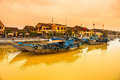 Hoi an vietnam view on the old town of unesco world heritage site Royalty Free Stock Photos