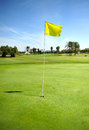 Hole on the golf course of Costa Ballena, Rota, Cadiz province, Spain Royalty Free Stock Photo