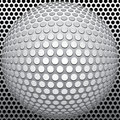 Holes ball Royalty Free Stock Photo
