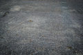 Holes on road surfaces of thailand Royalty Free Stock Photography