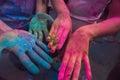 Holi festival of colours, India Royalty Free Stock Photo