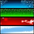 Holiday banners background illustration vector Stock Photography