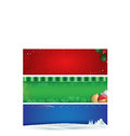 Holiday banners Royalty Free Stock Photo