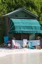 Holiday Beach Hut Stock Photos
