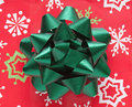 Holiday Bow Closeup Royalty Free Stock Image