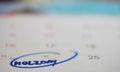 Holiday in Calendar Stock Photos