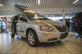 Holiday car chrysler grand voyager freedom seats picture is from the exhibition to moss two stroke as in norwegian moss to takt as Royalty Free Stock Images
