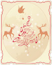 Holiday Card With Hand Written...