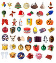 Holiday clipart collection Stock Images