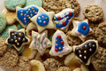 Holiday Cookies Royalty Free Stock Images