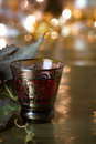 Holiday Drink Background Royalty Free Stock Photos