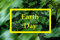 Holiday Earth Day poster