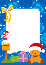 Holiday Frame Background Royalty Free Stock Images