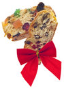 Holiday Fruit Cake Gift Stock Photos