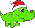 Holiday Gator Safari Vector