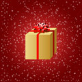 Holiday Gift Stock Image