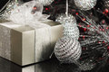Holiday Gift Box Royalty Free Stock Photo