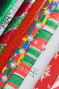 Holiday Gift Wrap Papers Royalty Free Stock Image