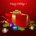Holiday Greeting Card Royalty Free Stock Photo