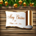 Holiday greeting card design Royalty Free Stock Photos