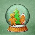 Snowglobe Christmas Royalty Free Stock Photo