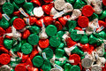 Holiday Hershey Kisses Royalty Free Stock Photo