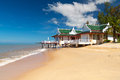 Holiday house beach thailand Stock Image