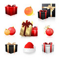 Holiday icon collection Royalty Free Stock Photography