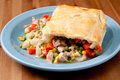 Holiday leftover turkey pot pie