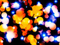 Holiday Lights Background Royalty Free Stock Photography