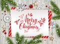 Holiday nature card christmas Royalty Free Stock Photo