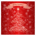 Holiday season snow flake card this is file of eps format Stock Image