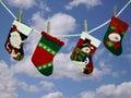 Holiday Socks Royalty Free Stock Image