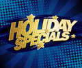Holiday specials design. Royalty Free Stock Photo