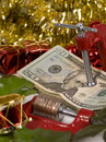 Holiday Squeeze Royalty Free Stock Photos