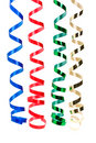 Holiday streamers 1 Stock Images
