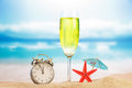 Holiday summer concept the or vacation on beach Royalty Free Stock Images