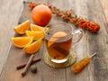 Holiday Tea Stock Photos