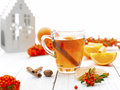 Holiday Tea Royalty Free Stock Photo