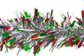 Holiday tinsel Stock Images