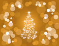 Holiday tree lights Royalty Free Stock Image
