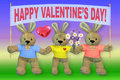 A holiday. Valentine day Royalty Free Stock Image