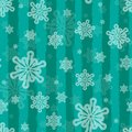 Holiday vector seamless background with brushed stripes and snow Royalty Free Stock Photo