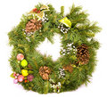Holiday Wreath Royalty Free Stock Photo