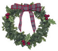 Holiday Wreath Royalty Free Stock Images