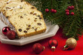 Holidays Cake With Raisins And...