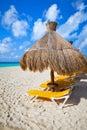 Holidays at Caribbean Sea Royalty Free Stock Photo